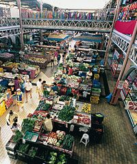 Check out the sights downtown Papeete and Le Marché (market)