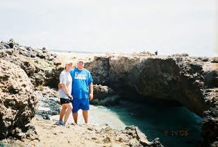 Kim and Todd Schaefgen in Aruba