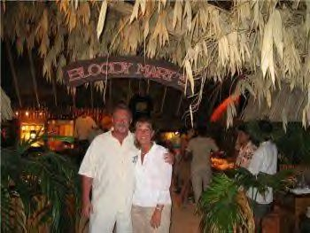 A visit to Bloody Mary's is a must in Bora Bora!
