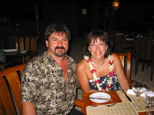 Gary and Gayle celebrated their 30th anniversary in Tahiti! DEFINITELY A BUCKET LIST EVENT!