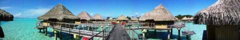 Overwater bungalows are unlike any other hotel you have stayed in!
